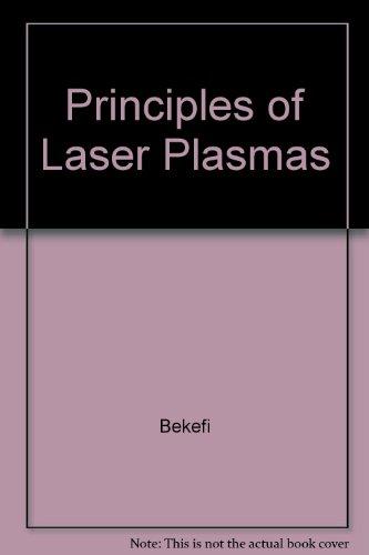 Principles of Laser Plasmas