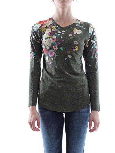 CONVERSE 6FD660 BLACK T-SHIRT M/LUNGA Donna BLACK M