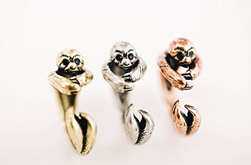 Sloth animal Ring