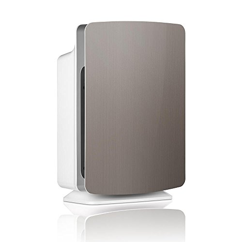Alen BreatheSmart Customizable Air Purifier with HEPA-Silver Filter to Remove Allergies, Mold & Bacteria (Brushed Stainless, Silver, 1-Pack)