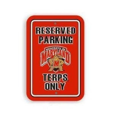 Maryland Terrapins Plastic Parking Sign maritime maryland – a history