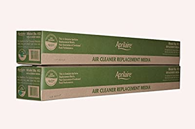 Genuine Aprilaire Part # 413 For Models 4400/2410 and Upgraded 2400 Air Cleaners MERV 13 Case of 2