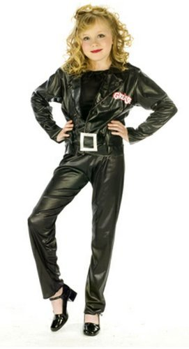 Grease Cool Sandy Child Costume - Small by Fun World (Sandys Cool Grease Costume Wig)