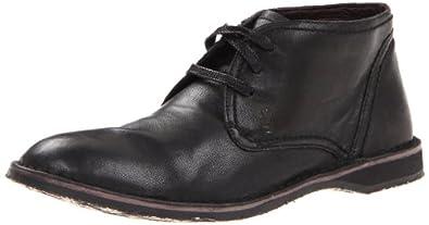 John Varvatos Men's Hipster Chukka Boot,Black,7 M US