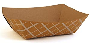 Southern Champion Tray 0513 #100 ECO Kraft Paperboard Food Tray, 1-lb Capacity (Case of 1000)