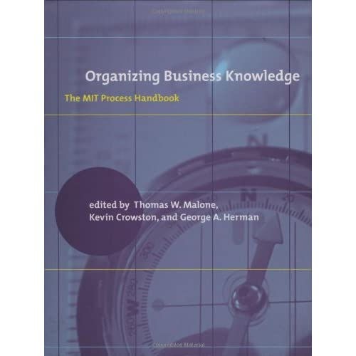 Organizing Business Knowledge: The MIT Process Handbook