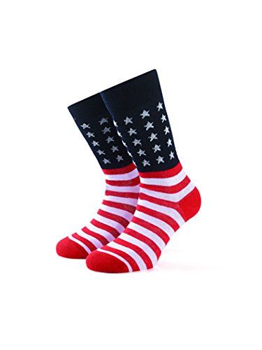 Smart Living Outdoor Brf15s002 Calze Skater Unisex Flag Usa Bandiera America Taglia S-M