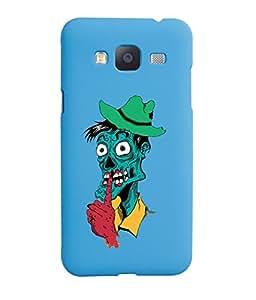 KolorEdge Back Cover For Samsung Galaxy J3 - Sky Blue (5841-Ke15125SamJ3SBlue3D)