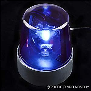 Rhode Island Novelty Blue Police Beacon Light (Color: Blue, Tamaño: One Size)