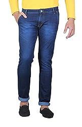 JCTex Men's blue special v slim fit Jeans - Fashion - popular- comfort - skinny - designer discount brand style best jean denim stretchable 30