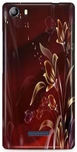 KSC Desginer Hard Back Case Cover For Micromax Canvas 5 E481