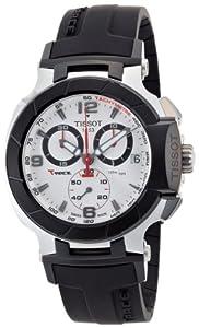 Tissot Men's TIST0484172703700 T-Race White Dial Watch