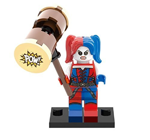 LEGO Compatible DC Superheroes Suicide Squad Harley Quinn Minifigure (76053) by CUSTOM (Lego Custom Iron compare prices)