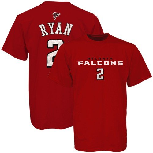 lowest price 51397 6dc1b Reebok Atlanta Falcons #2 Matt Ryan Youth Red Players T ...