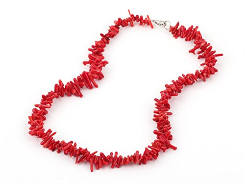 treasurebay-beautiful-red-coral-necklace-with-lobster-claw-clasp-length-46cm