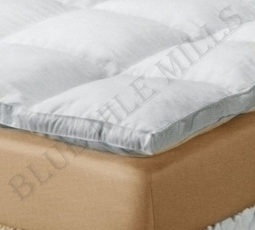 Big Save! ALL SEASON DOWN ALTERNATIVE MATTRESS TOPPER - 230TC SHELL.
