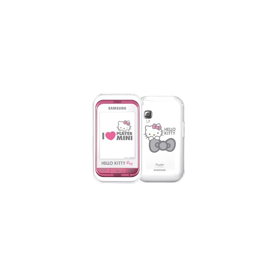 Hello Kitty Limited Edition Samsung S5230 Unlocked GSM Cell Phone with 3MP Camera,  Player, FM radio, Touch Screen, Bluetooth, HTML browser and MicroSD Slot  International (Pink)