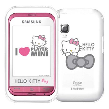 Samsung C3300 GSM Champ Hello Kitty Quadband Phone (Unlocked)