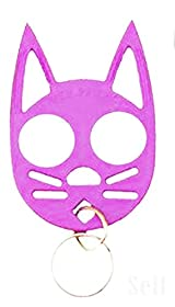 The Cat Personal Safety Keychain -Pink