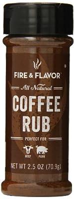 Fire & Flavor Coffee Rub, 2.5 oz by Fire & Flavor