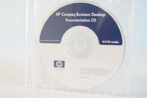 HP Hewlett Packard Compaq Business Desktop Documentation