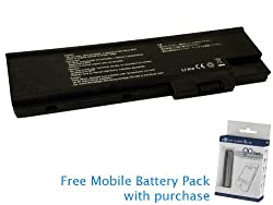 Acer Aspire 5620 Series Battery 71Wh, 4800mAh with free Mobile Battery Pack