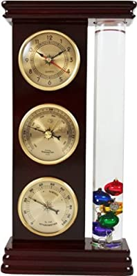 Ambient Weather WS-YG710S-G Galileo Weather Station with Thermometer, Barometer, Hygrometer and Clock from Ambient Weather