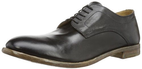 MOMA Mens basic derby Casual Black Schwarz (nero) Size: 9 (43 EU)