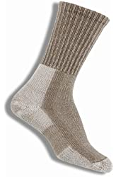 Thorlo Women's Wool/Silk Moderate Cushion Light Hiker Crew Sock