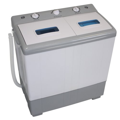 TecTake mini washing machine 4 kg + Spin 3kg