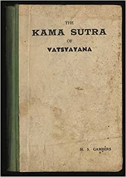 the kama sutra of vatsyayana h s gambers books. Black Bedroom Furniture Sets. Home Design Ideas