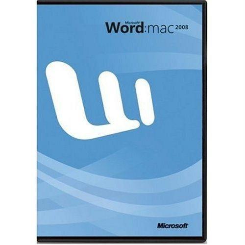 Microsoft Word Mac 2008 Upgrade
