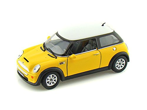 Mini Cooper S 1/28 Yellow