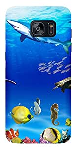 WOW Printed Designer Mobile Case Back Cover For Samsung Galaxy S7
