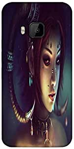 Snoogg Tribal Chic Designer Protective Back Case Cover For HTC M9