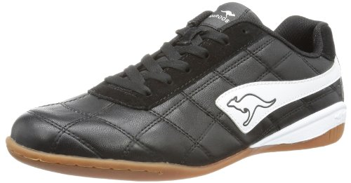 KangaROOS Raoul Indoor Shoes Mens Black Schwarz (blk/wht 500) Size: 9 (43 EU)