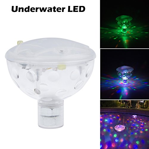Lemonbest Underwater Ip67 Led Decorating Light Show Disco Ball Multi-Color Light Hot Tub Spa Jacuzzi Pond Pool Decoration Led Bath Lamp For The Pool Party