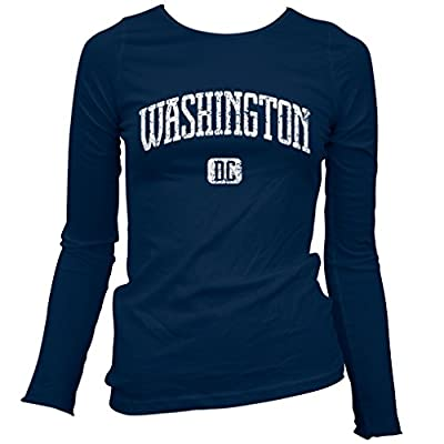 Smash Vintage Women's Washington D.C. Long Sleeve T-shirt