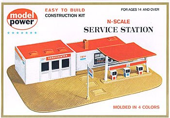 N KIT EXXON SERVICE STATION
