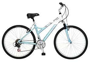 Schwinn Coronado Women's Comfort Bike (26-Inch Wheels, White/Green)