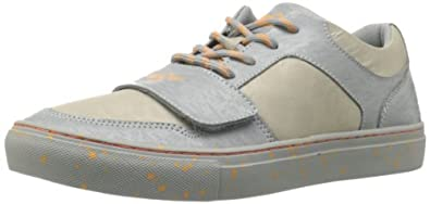 Creative Recreation Men's Cesario LO X Sneaker,Grey Tech/Neon Orange,7 M US