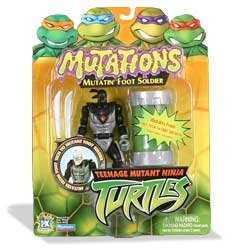 Buy Low Price Playmates Teenage Mutant Ninja Turtles: Mutations – Mutatin' Foot Soldier Action Figure (B0000VV2XI)