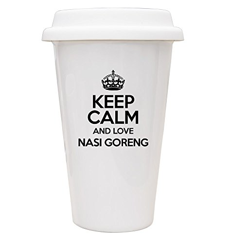 (Noir Keep Calm and Love Nasi Goreng ECO Mug TXT - 2700