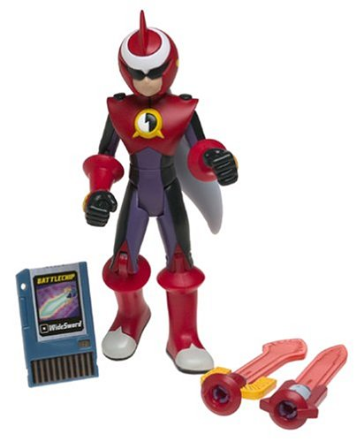 Buy Low Price Mattel MegaMan NT Warrior Proto Man Figure (B0002D0FM8)