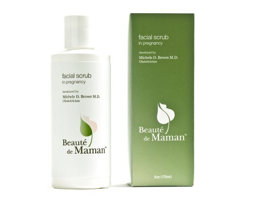 Beauté de Maman Facial Scrub For Pregnant Women, 6 oz.