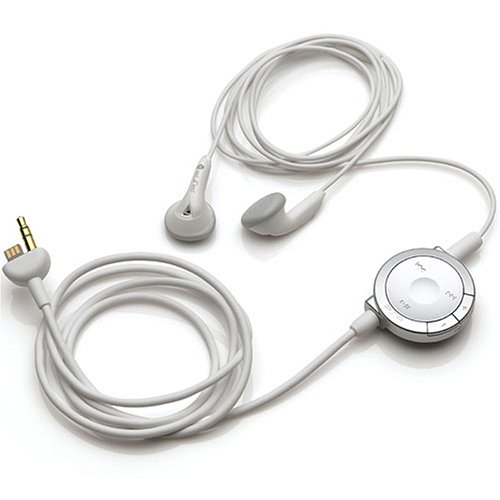 Psp Headphones With Remote Control (White)