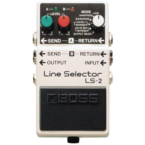 Boss LS-2 Line Selector, Effektgerät für E-Gitarre
