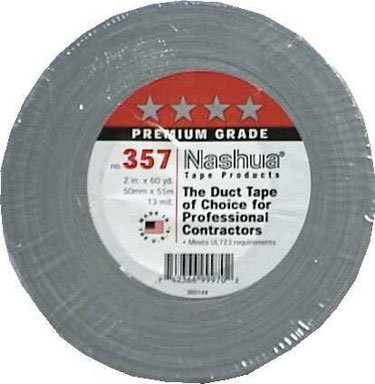 Berry 3570020008 2 x60YD Grey Duct Tape