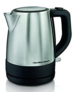Hamilton Beach 40998 1 L Stainless Steel Electric Kettle, Silver from Hamilton Beach