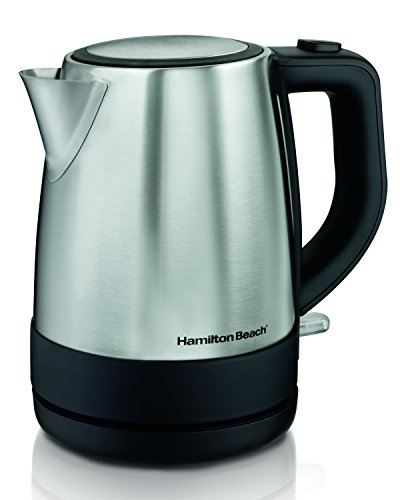 Hamilton Beach 40998 1 L Stainless Steel Electric Kettle, Silver (Mini Electric Tea Kettle compare prices)